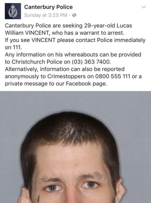 Man Wanted By Police Gets Roasted On Facebook