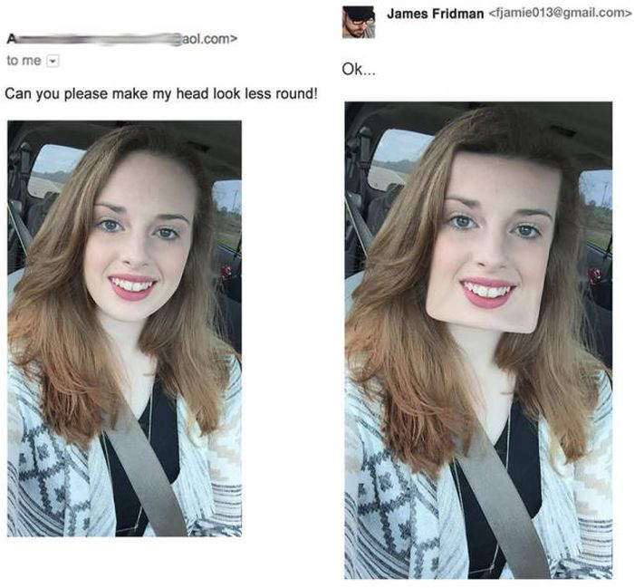See What Happens When You Ask This Photoshop Master To Fix Your Photos