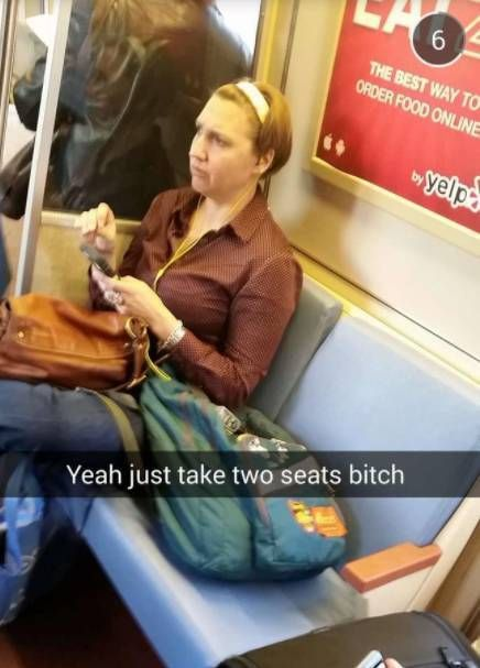 Women Who Make You Wish To Never Take Public Transport Again
