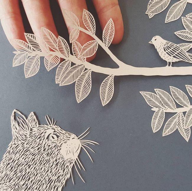British Artist Creates Stunning Sculptures From Paper