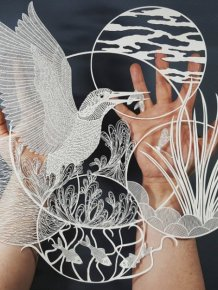 British Artist Creates Stunning Sculptures From Paper