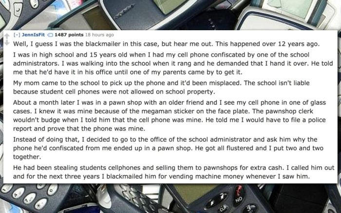 People Share Their Insane Blackmail Stories