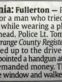 Hilarious Police Blotter Excerpts That Will Crack You Up