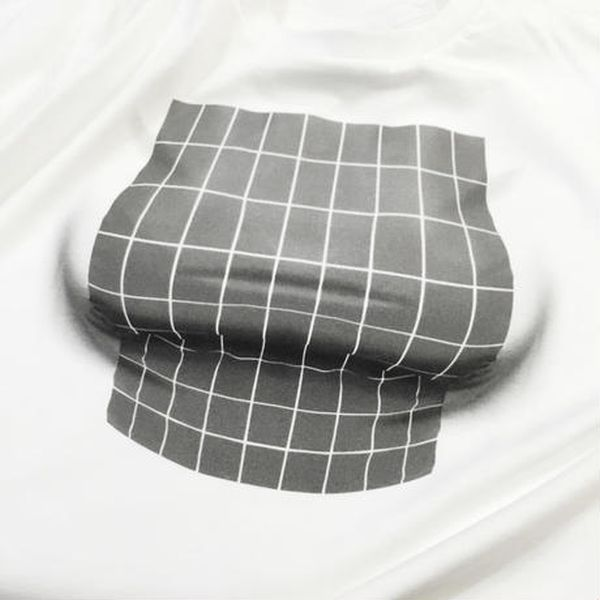Optical Illusion T-Shirt Creates Chest From Nothing