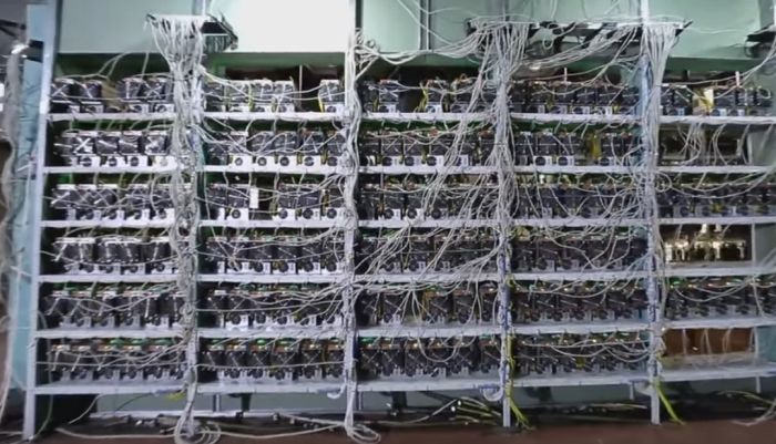 What The Largest Crypto Currency Farm In Russia Looks Like