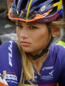 This Dutch Cyclist Will Steal Your Heart