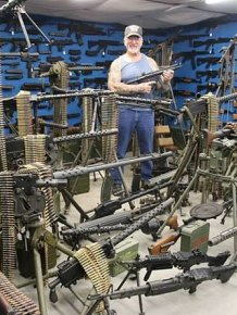 The Most Armed Man In America's Arsenal Continues To Grow