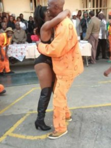 Sun City Prison Inmates Enjoy A Strip Show
