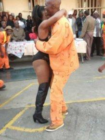 Sun City Prison Inmates Enjoy A Strip Show