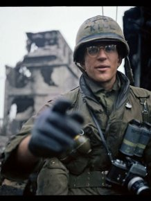 Full Metal Jacket Star Shares Behind The Scenes Photos From The Set