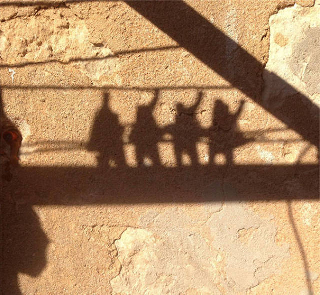 Shadows Sometimes Have Lives Of Their Own