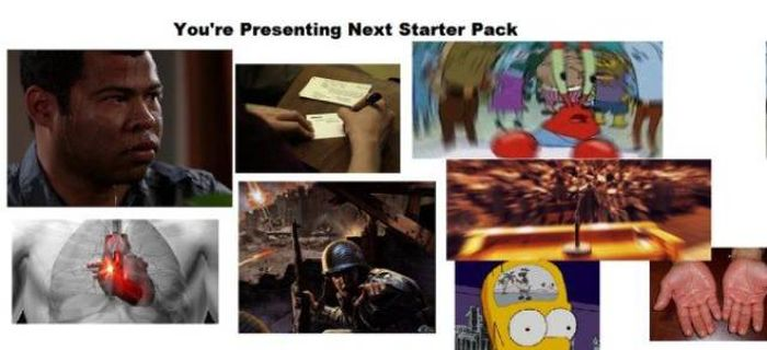 There's A Starter Pack For Everything Nowadays