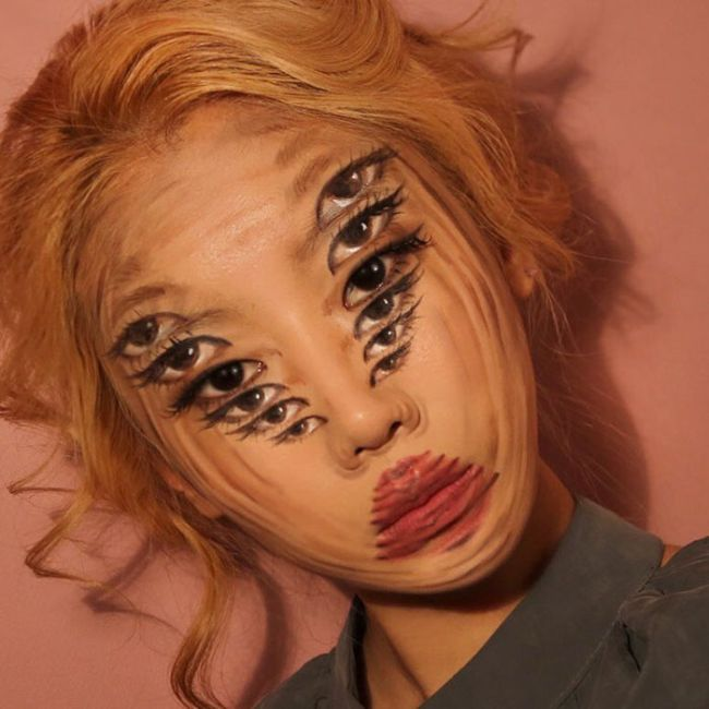 What This Artist Does To Her Face Will Seriously Mess Up Your Brain