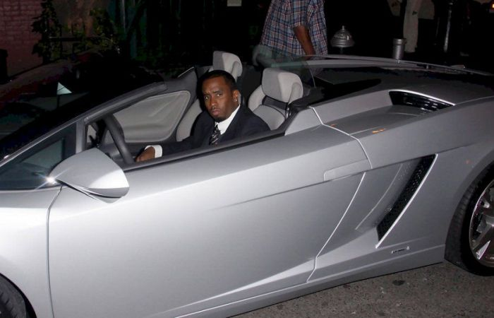 Diddy Has An Impressive Car Collection