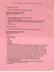 Here's What A Pro Wrestling Script Looks Like
