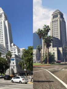 Comparing Grand Theft Auto's Los Santos To Los Angeles