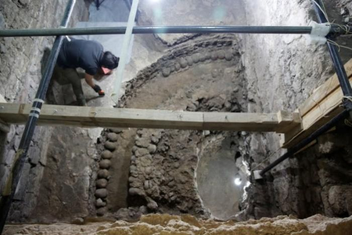 Pyramid Of Skulls Discovered In Mexico City