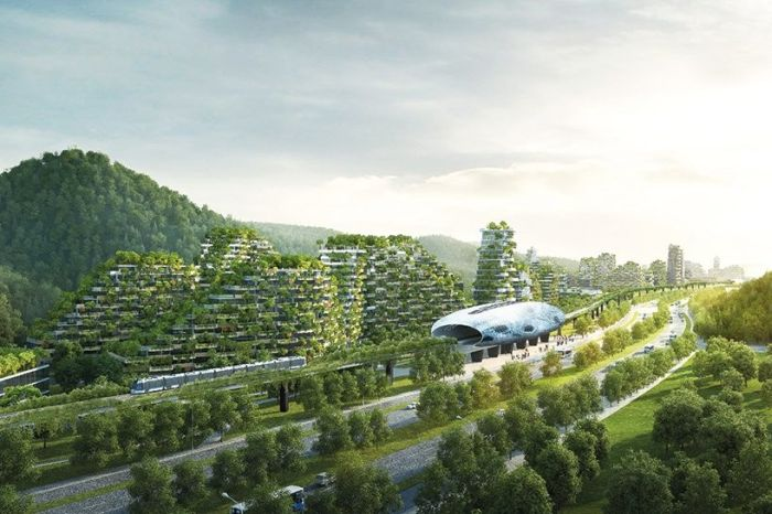 China Is Building A Forest City To Battle Smog