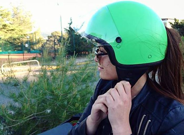 This Motorcycle Helmet Is Genius