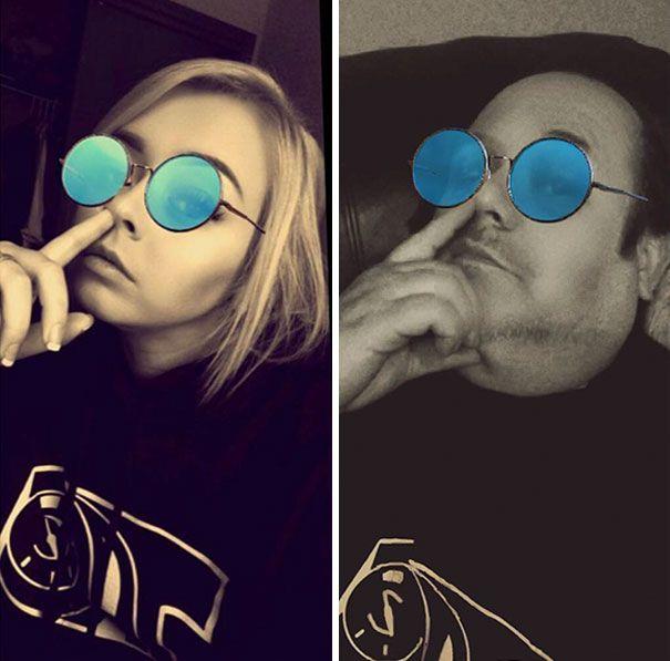 Dad Trolls Daughter By Recreating Racy Selfies