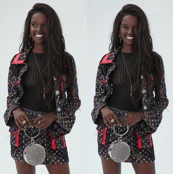 Dark Skinned Model Puzzles Her Fans