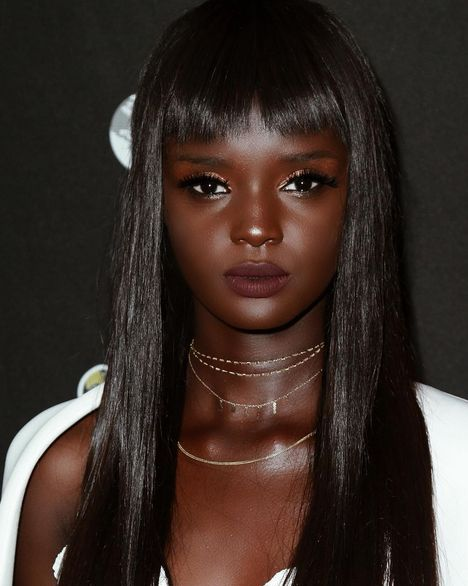 Dark Skinned Model Puzzles Her Fans