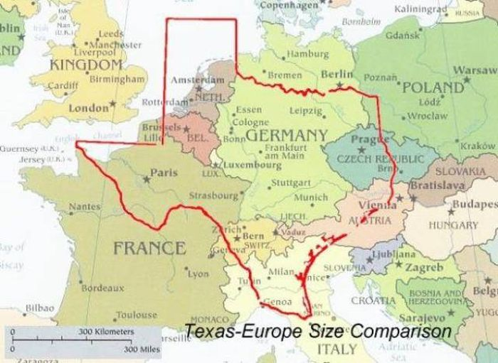 Texas Knows That Size Truly Does Matter