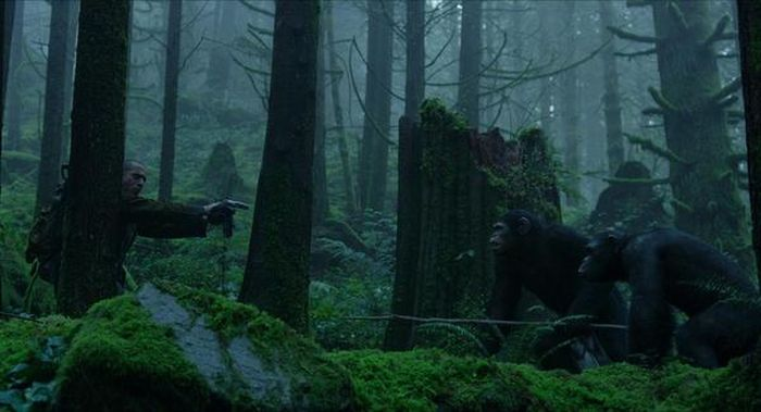Dawn Of The Planet Of The Apes Behind The Scenes Photos