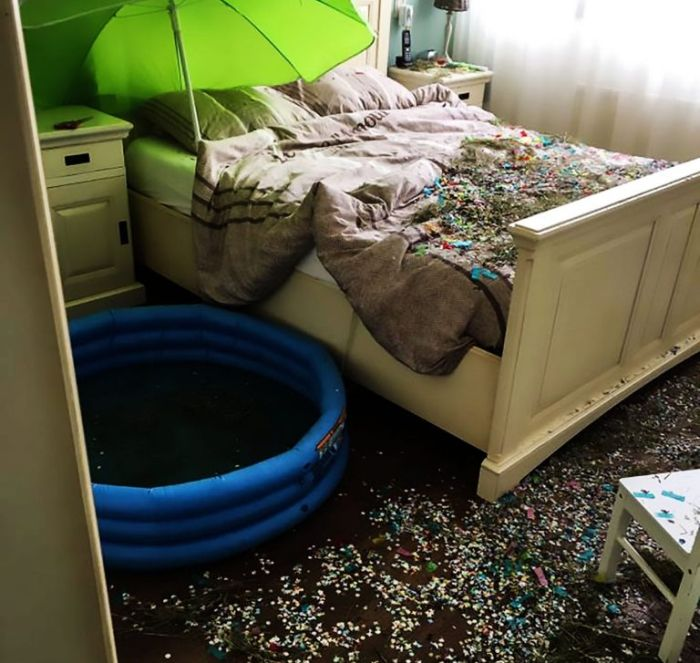 Married Couple Returns Home To A Complete Disaster