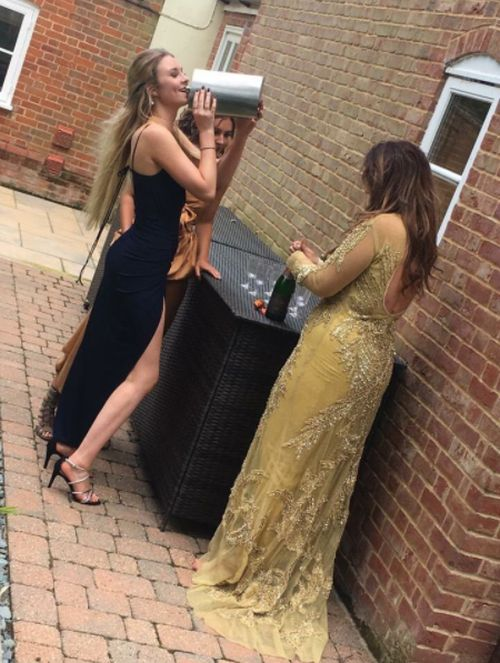Girl Gets Away With Bringing A Giant Flask To The Prom