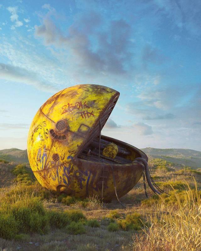 Artist Shows The Disturbing Future Of Modern Pop-Art