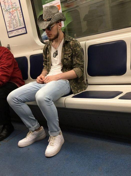 Moscow Metro Fashion Is Bizarre And Entertaining