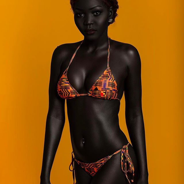 Nyakim Gatwech Is A Model Also Known As The Queen Of The Dark
