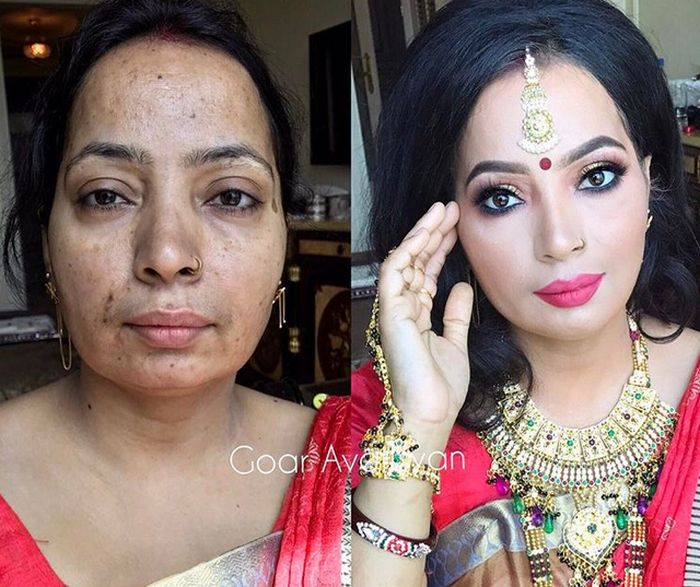 Before And After Photos Show Women With And Without Makeup Others