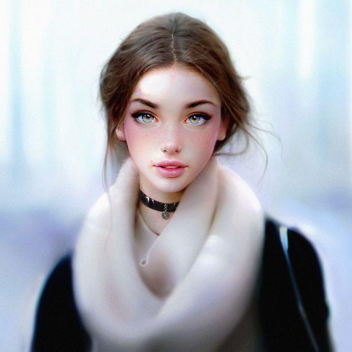 Stunning Hyper-Realistic Portraits By Artist Irakli Nadar