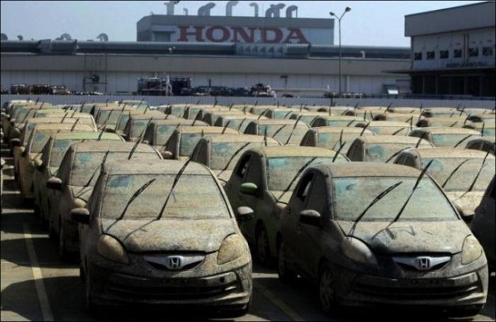 Honda Destroys Thousands Of Cars