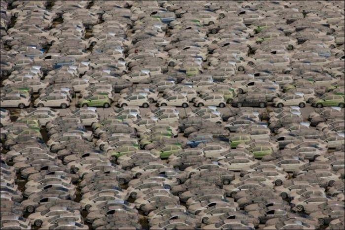 Honda Destroys Thousands Of Cars
