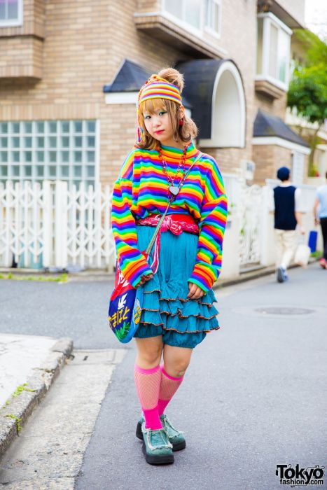 Fashion On The Streets Of Tokyo, Japan