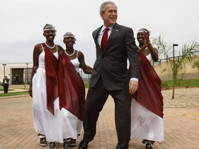 A Reminder Of Why Everyone Liked George W. Bush In The First Place