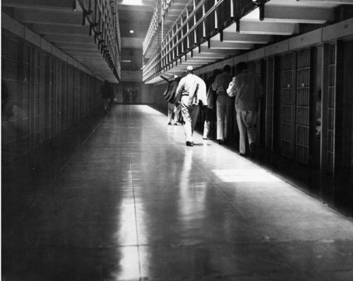 Vintage Photos From Inside Alcatraz