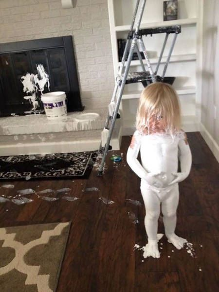 This Is Why You Never Ever Leave Your Kids Alone