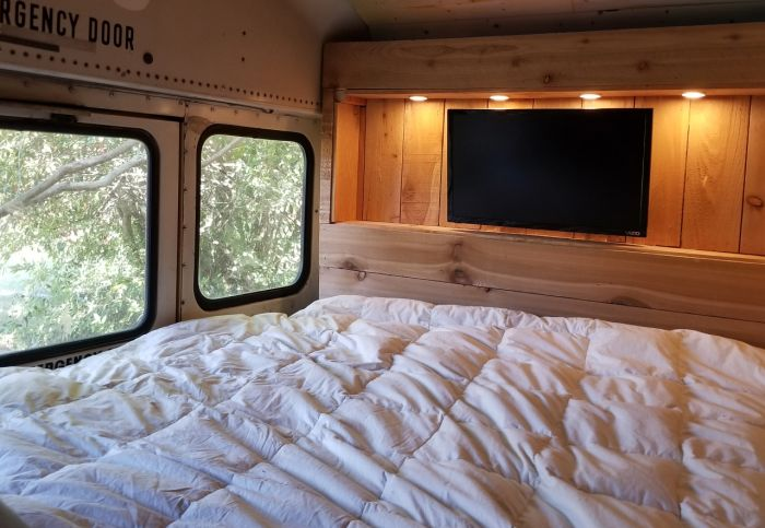 Old School Bus Gets Turned Into A House On Wheels