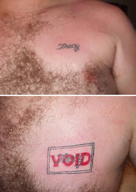 Exes Who Moved On Using Hilarious Tattoo Coverups