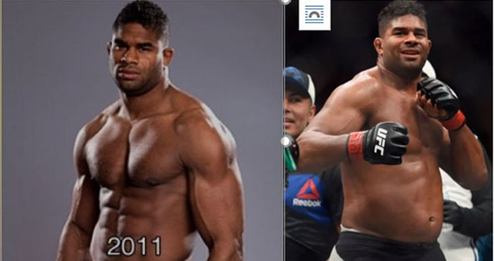 How Alistair Overeem Has Changed Over The Years
