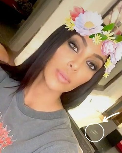 Kim Kardashian Caught Doing Drugs On Snapchat