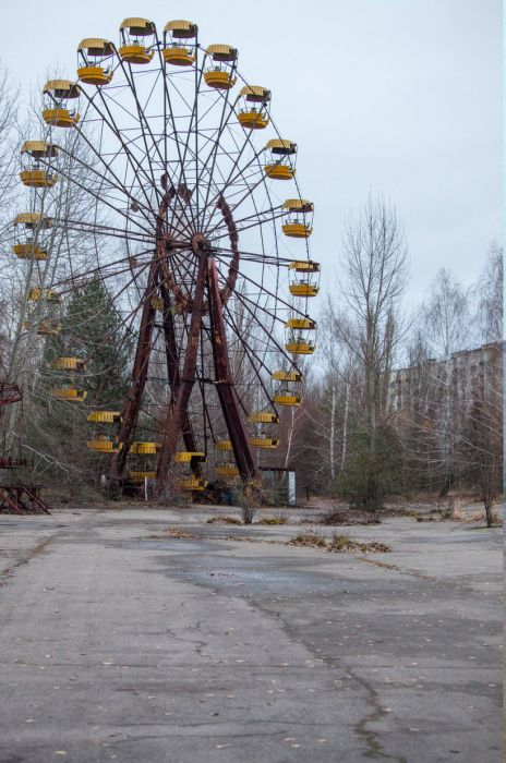 Pripyat Then And Now
