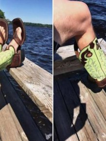 Cowboy Boot Sandals Are A Real Thing