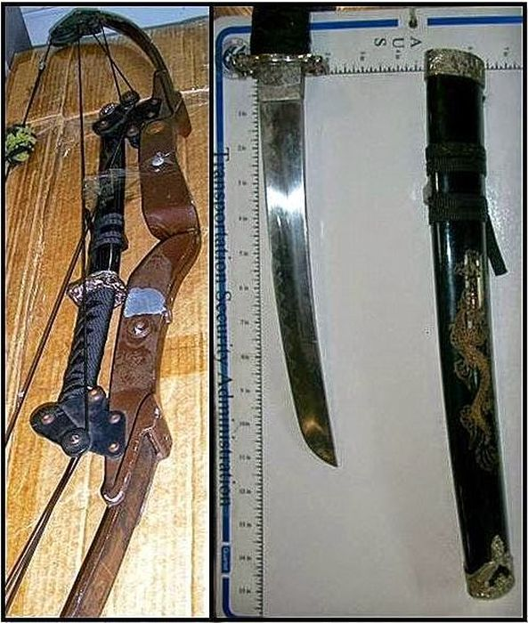 The Craziest Things That The TSA Has Ever Confiscated