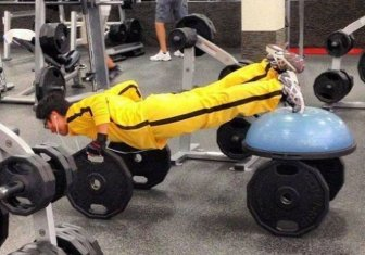 The Gym Is Not A Place For The Weak