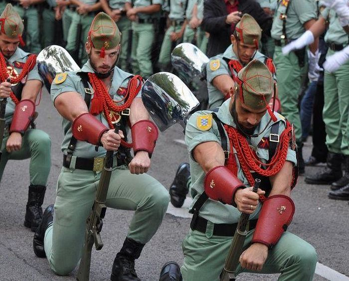 Spanish Legionnaires Outfits Come Under Fire
